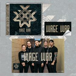 Wage War - Blueprints CD w/ Poster + Sticker