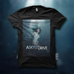 Rise Album Art Black T-Shirt