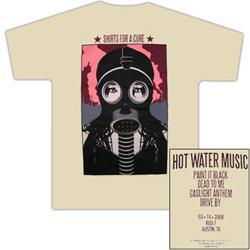 Hot Water Music - 2008 SXSW - T-Shirt
