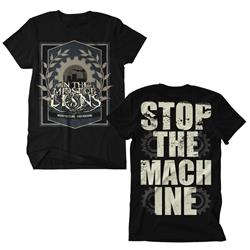 Stop The Machine Black Sale! Final Print! $6 Sale Final Print! $6 Sale