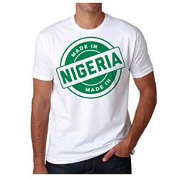 Made In Nigeria On White