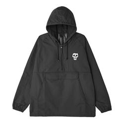 Reaper Black Windbreaker