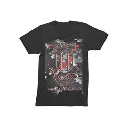 Camo Logo Black T-Shirt