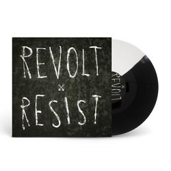 Revolt / Resist Half Black / Half White