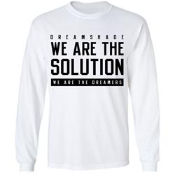 We Are The Solution White
