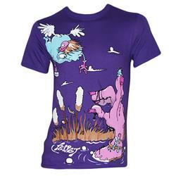 Cartoon Purple