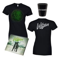 Right To Rise CD + Girl's T-Shirt + Shot Glass