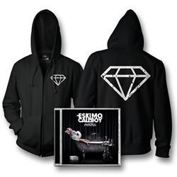 Crystals CD + Zip-Up Sweatshirt