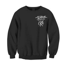 Hard Lessons Black Crewneck