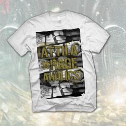 Rageaholics White T-Shirt