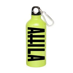 Cross Logo Yellow Water Bottle