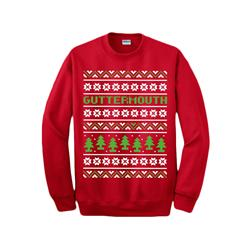 Xmas Red Crewneck Sweater