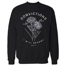 I Will Become Black Crewneck Small