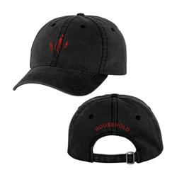 Spirits Black Pigment Dyed Dad Hat
