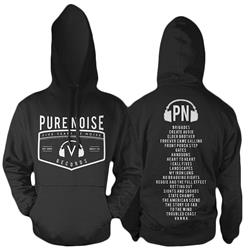 Pure Noise Five Years Black Hooded