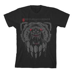 Bear Paw Black T-Shirt