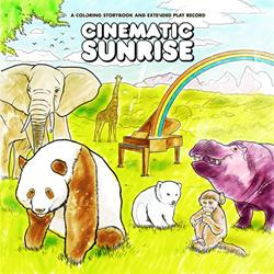 Cinematic Sunrise - A Coloring Storybook... CDEP