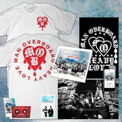 Man Overboard - CD SHIRT & EXTRAS BUNDLE - DRIP