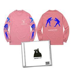 CD & Wrestlers Pink Long Sleeve