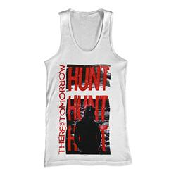Hunt Hunt Hunt White Tank Top