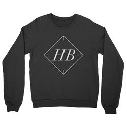 Icon Black Crewneck