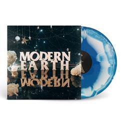 Modern Earth Aqua Blue/White Smash