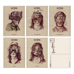 Band Member Postcards (Set Of 5)