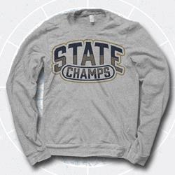 Arch Logo Heather Grey Crewneck