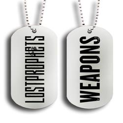 Weapons Silver Dog Tag