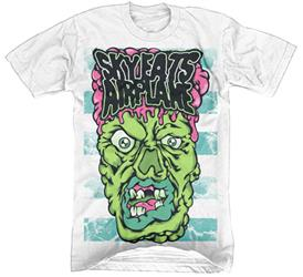 Zombie Face White