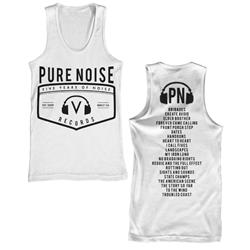 Pure Noise Five Years White Tank Top