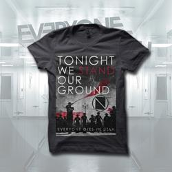 Tonight We Stand Dark Grey T-Shirt