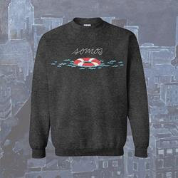 Lifesaver Heather Grey Crewneck