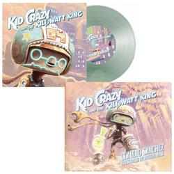 Kid Crazy and The Kilowatt King Book/Vinyl
