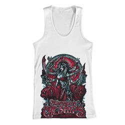 Shiva White Tank Top