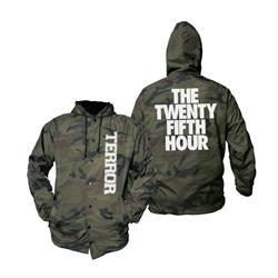 The Twenty Fifth Hour Camo Windbreaker