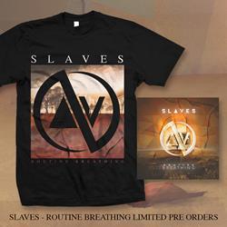Slaves - Routine Breathing - T-shirt + CD + Digital Download