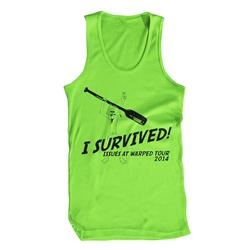 I Survived Warped 2014 Neon Green
