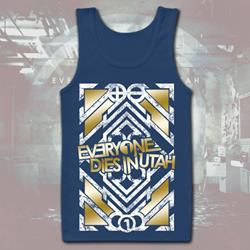 Symmetrical Foil Royal Tank Top