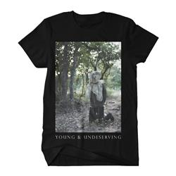 Young & Undeserving Black T-Shirt