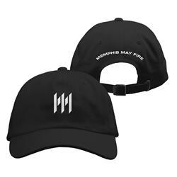 Emblem Black Dad Hat