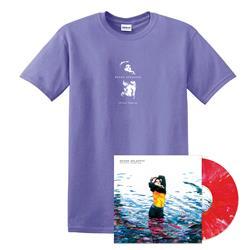 Skinny Dipping - Vinyl + Girl Violet Tee