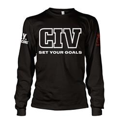 Set Your Goals Long Sleeve
