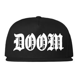 Doom Snapback Version 2 Black Snapback Hat