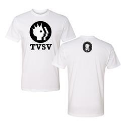 TVSV Logo White