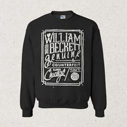 Chicago Dark Heather Crewneck