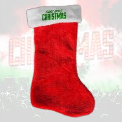 Punk Goes Christmas Red Stocking