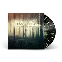 Blessthefall To Those Left Behind Black w/ Double Mint And Yellow Splatter Vinyl LP