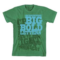 Big Bold Letters Green