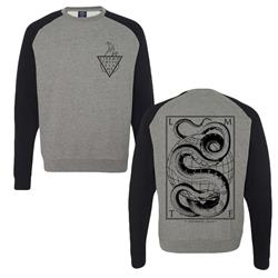 Snake Heather/Black Crewneck *Clearance*